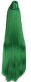 Sailor Pluto Long Straight Green Wig