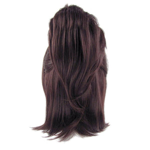 Attack on Titan Hans Zoe Wig Brown Middle High Temperature Silk Wig - Xcoser Costume