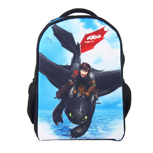 How to Train Your Dragon Bag Hiccup Cosplay Polyester Waterproof Backpacks For Primary School - Xcoser Costume