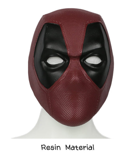 Xcoser Deadpool Head Face Movie Mask Helmet adult Cosplay Props