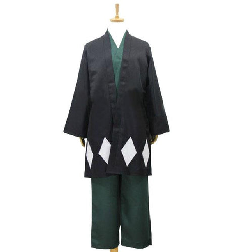 Bleach Urahara Kisuke Cosplay Costume With Hat