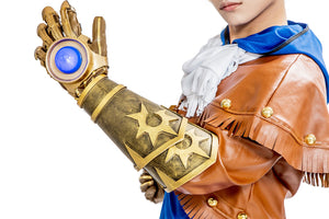 Ezreal Cosplay LOL Ezreal Original Skin Costume Blue/Gray Custom Made - Xcoser Costume