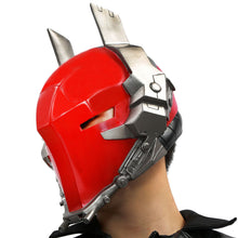 Arkham Knight Helmet Batman Arkham Game Cosplay PVC Red Full Head Mask - Xcoser Costume