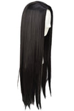 Pocahontas Wig Disney Pocahontas India Princess Cosplay Long Straight Black Wig Halloween Costume Wig