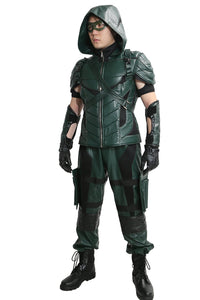 Green Arrow season 4 costume
