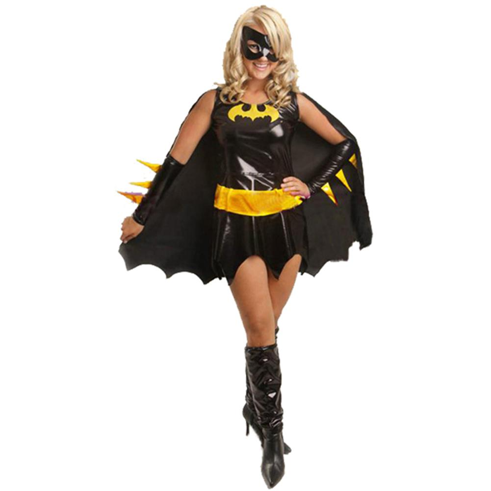 Batwoman Cosplay Costume Halloween Party Costume for Woman - Xcoser Costume