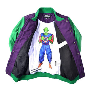 Dragon Ball Goku Costume Piccolo Cotton Padded Jacket Couple Baseball Coat Adult/Kids Size - Xcoser Costume