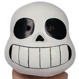 Xcoser Undertale Sans Cosplay Helmet Latex Full Head Helmet for Cosplay & Halloween