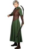 Xcoser Classic Movie The Hobbit Tauriel Costume Outfits Tauriel Cosplay Costume