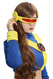 Xcoser Free Shipping X-Men Cyclops Outfits Blue Spandex Cosplay Costume