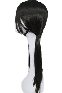 Dragon Ball Videl wig Anime Cosplay Costume Black Long Straight Hair Accessories - Xcoser Costume