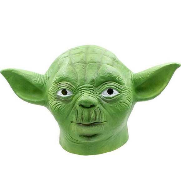 Xcoser Star Wars Master Yoda Latex Mask for Halloween
