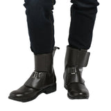 Xcoser Rogue One Jyn Erso Shoes Black PU Ankle Boots Jyn Erso Cosplay Shoes