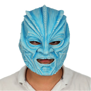Xcoser Star Trek Beyond Krall Mask Blue Resin Cosplay Helmet Cosplay and Halloween Helmet