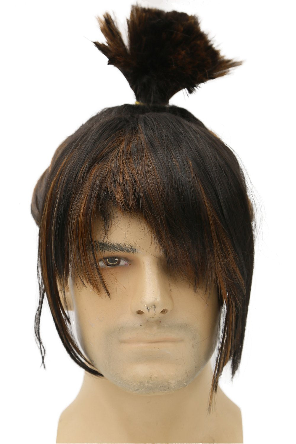 Kubo Wig Kubo and the Two Strings Cosplay Pre-styled Wig Hair - Xcoser Costume
