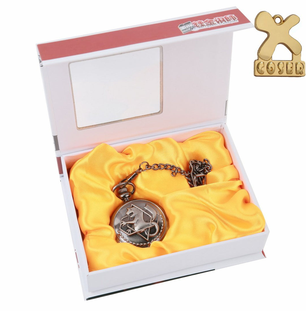 fullmetal alchemist pocket watch,full metal alchemist cosplay