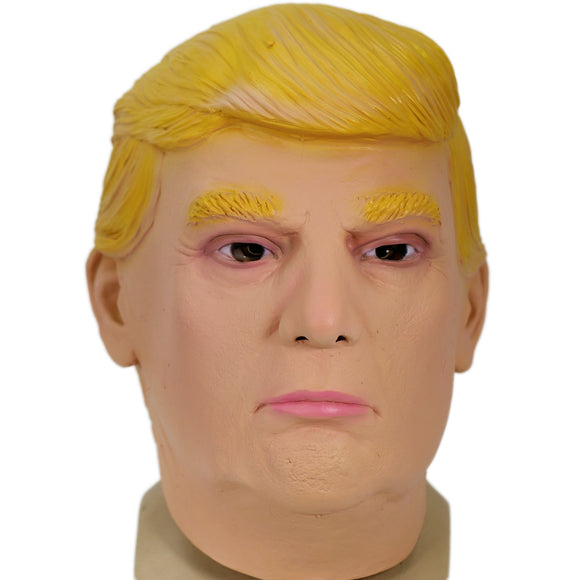 The Republican Donald Trump Full Head Latex Mask Celebrity Face Mask for Halloween Party