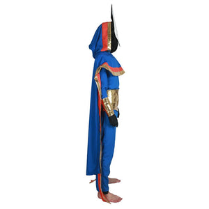 Xcoser Pyre Game Cosplay Hedwyn Full Set Blue Costume Halloween Cosplay