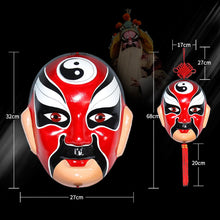 REDEMPTION:Beijing Opera Facial Mask Decrative Ornament China Chic Hangings
