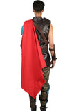 Thor: Ragnarok Thor costume Cloak With Resin Accessories Cosplay