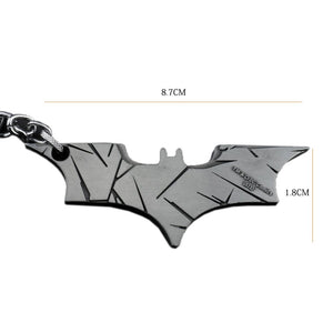 Batman v Superman: Dawn of Justice Metal Keychain Keyring accessories Black Golden Silver - Xcoser Costume