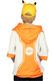 The Hot Game Pokemon GO Hoodie Half Sleeve Pullover Cosplay&Halloween Costume for Teenagers