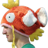 Pokemon Go Magikarp Wool Hat Orange Cotton Hat Five Optional Size