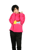 Xcoser Mabel Pines Hoodie Red Sweatshirt Lady's High Neck Pullover Gravity Falls Cosplay Costume