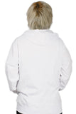 Star Wars Hoodie White Cotton Warm Hoodie Zip Closure & Two Pockets