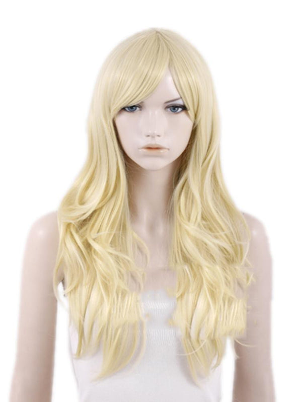 X-Men Emma Frost Wig Long Curly Hair Emma Frost Cosplay Accessories