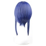 Sachi Cosplay Sword Art Online Sachi Short Straight Blue Anime Cosplay Wig