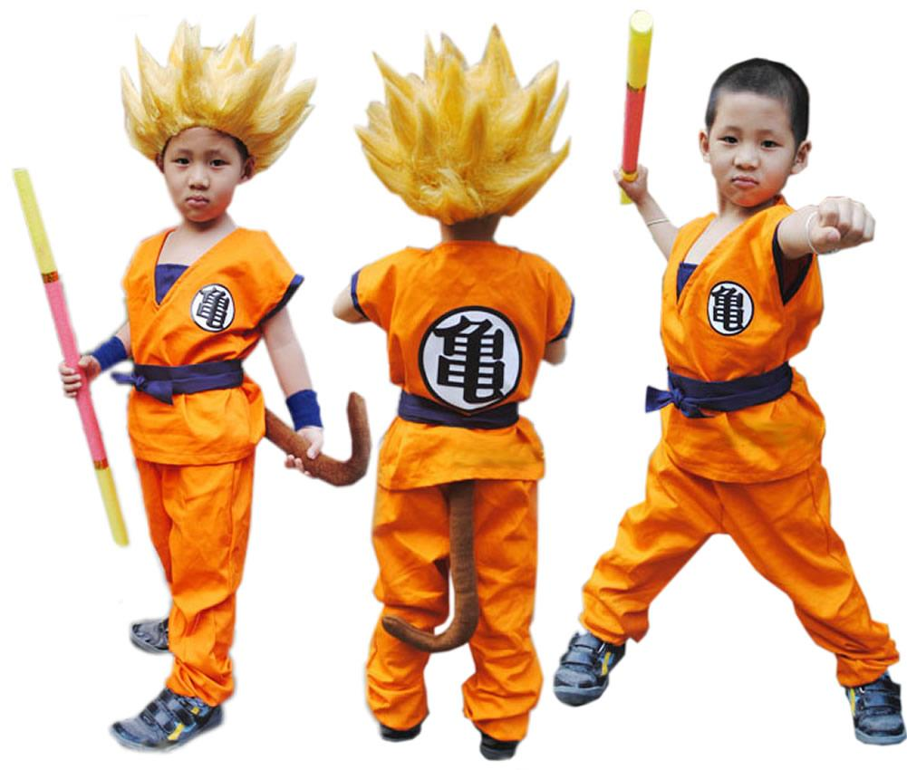 Goku Costume, Dragon Ball Cosplay