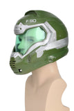 Xcoser Free Shipping Doom Doomguy Game Version Helmet Cosplay Props