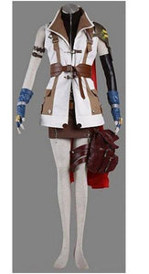 Final Fantasy XIII Lightning Outfit Cosplay Costume - Xcoser Costume