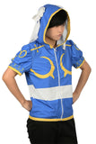 Xcoser Chun Li Costume Hoodie Street Fighter Cosplay Costume