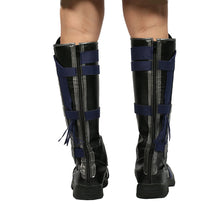 Doctor Strange Cosplay Shoes Black PU Knee boots Halloween Shoes - Xcoser Costume