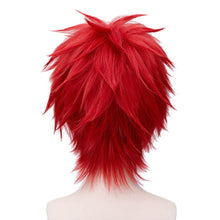Gaara Wig Naruto Sabaku No Gaara Short Straight Red Halloween Party Wig Cosplay Costume Synthetic Wig - Xcoser Costume