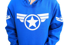Captain America Hoodie Captain America Cosplay Costume Cotton Pullover Hoodie Coat For Men