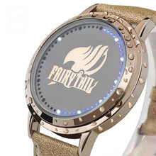 Fairy Tail Watch Guild Logo Cosplay Anime Led Touch Screen Watch - Xcoser Costume