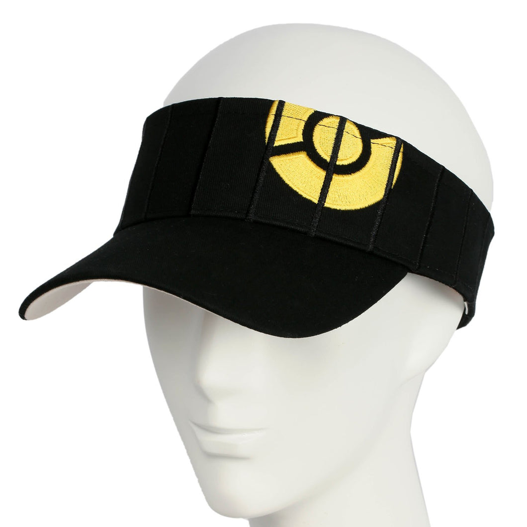 Pokemon Go Hat Adult Black Sun Hat with Yellow Logo Game Cosplay Costume Accessories