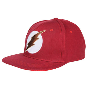 The Flash Hat Cosplay Costume Adult Adjustable Snapback Cap Accessories