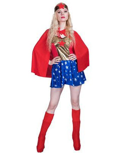 Halloween Carnival Party Wonder Woman Cosplay Costume