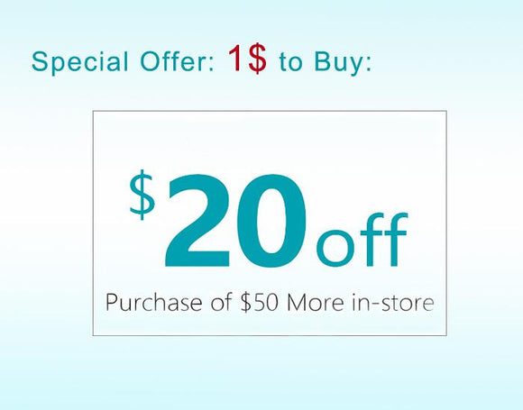 Special Offer $20 Coupon Need One Dollar ONLY