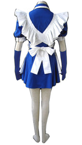 Battle Vixens Cosplay Shimei Ryomou French Maid Costume - Xcoser Costume