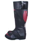 Captain America 3 AntMan Black PU Thigh-boot Reding Boots Ant-Man Cosplay Shoes