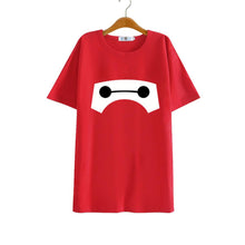 Baymax T Shirt Big Hero 6 Baymax Cosplay Short Sleeve Cotton T-shirt - Xcoser Costume