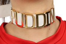 Suicide Squad Harley Quinn Choker Inspired Collar Puddin Necklace Costume Accessories COSplay