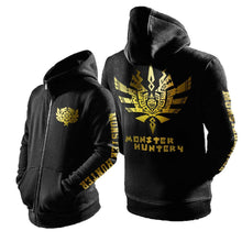 Fashion Monster Hunter Hoodie Monster Hunter Cosplay Mens Zip Up Hoodie - Xcoser Costume