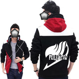 Fairy Tail Hoodie Fairy Tail Logo Thicken Hoodie For Men - Xcoser Costume