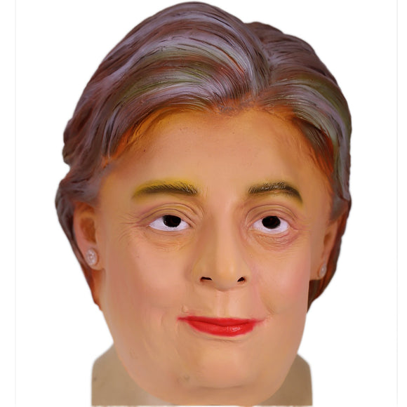 The Statesman Hillary Clinton Latex Full Head Mask Celebrity Mask Halloween Party Mask